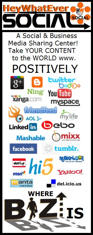 HeyWhatEverSOCIAL Business Network